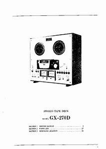 Akai Gx 270d Service Manual Schematic Diagram
