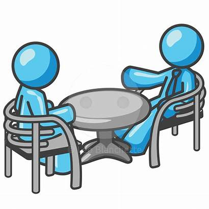 Meeting Clip Table Clipart Business Conference Lunch