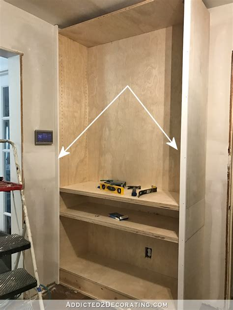 how to make cabinet faces diy hallway cabinets part 1