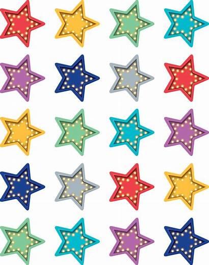 Stars Stickers Marquee Star Classroom Teachercreated Backdrop