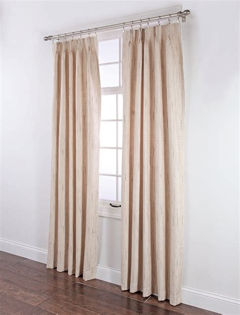 Pleated Thermal Drapes - stylemaster tucson thermal insulate pinch pleat drapes 144