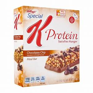 Kellogg's Special K Chocolate Chip Protein Meal Bar 270g ...