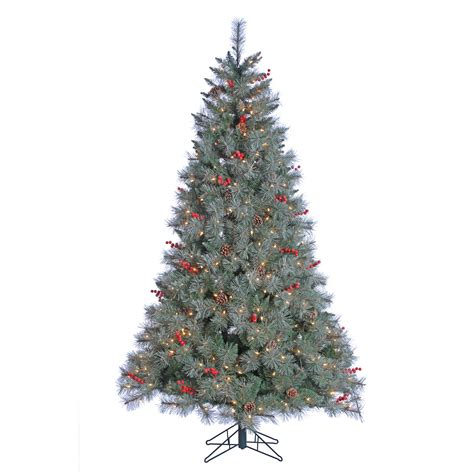 donner and blitzen tree donner blitzen incorporated 7 pre lit lightly flocked wyoming fir tree with 500 clear lights