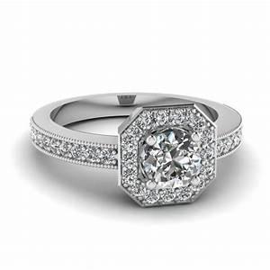 octagon diamond wedding ring wedding ring styles With octagon wedding ring