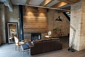 Wood To Gas Fireplace Conversion Living Room Contemporary