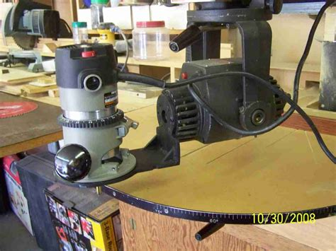 powrkraft radial arm  routing page  router forums