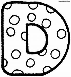 9 Best Images of Polka Dot Letters Printable - Printable ...