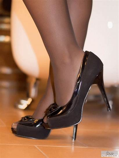 Heels Pantyhose Feet Stockings Nylon Heel Shoe