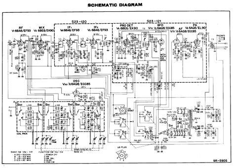 380 Tv Wiring Schematic by Trio 9r59ds Communicatie Ontvanger