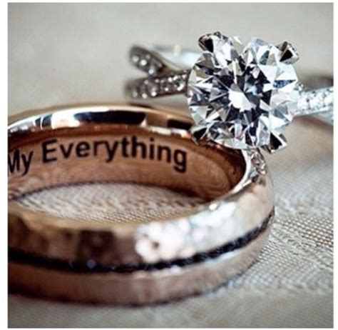 the inscription in the wedding ring beautiful