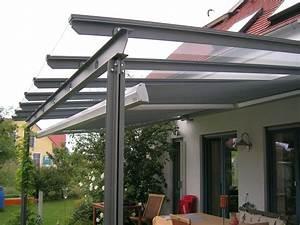 terrassenuberdachungen von kirchberger metallbau With metall terrassenüberdachung