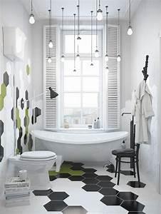 les 25 meilleures idees concernant carrelage hexagonal sur With carrelage adhesif salle de bain avec luminaire à led intérieur