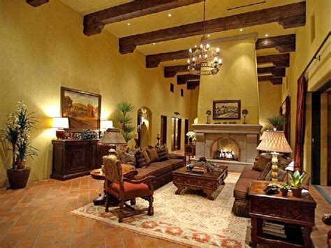 tuscan style  bring romantic rustic interior home design