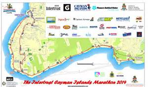Cayman Islands Road Map