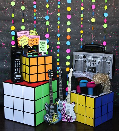 80s Party Ideas  Party Ideas At Birthday In A Box