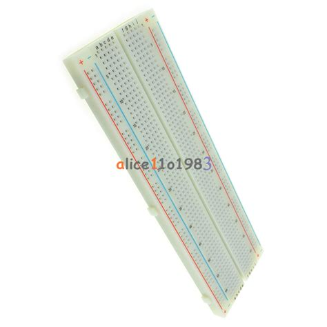 solderless mb 102 mb102 breadboard 830 tie point pcb