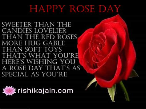 wishing   rose day   special  youre