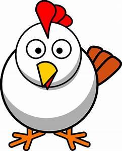 White Chicken Clip Art at Clker.com - vector clip art ...