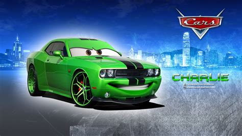 Charlie Dodge Challenger Disney Pixar Cars 1 2 Free Hd