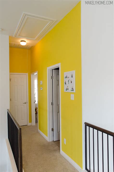 bright yellow wall color homeright quick painter review