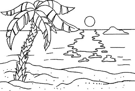 ocean  beach coloring pages  coloring pages
