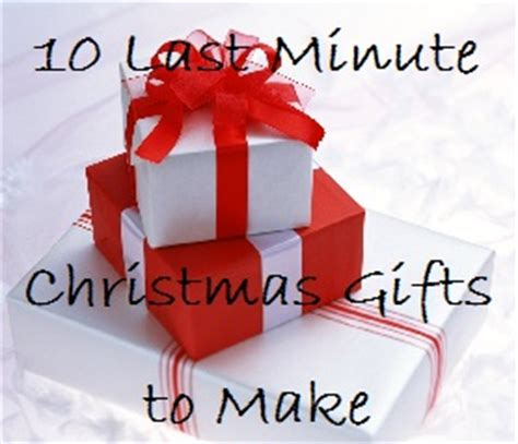 last 10 years christmas gifts 10 last minute gifts to make something 2 offer