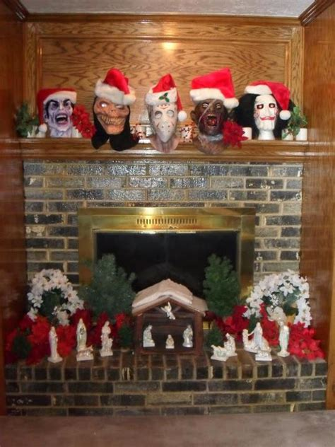 creepy christmas images  pinterest xmas dark
