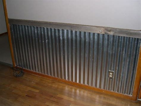 Tin Wainscoting Panels by Strange Things I Seen During An Inspection Barn
