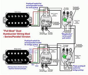 U0026quot Full Boat U0026quot  Humbucker Wiring Mod