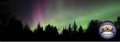 Lights Northern Aurora Borealis Banner Manitoulin Island