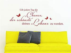 Der Schönste Tag : wandtattoo spruch der sch nste tag von ~ Eleganceandgraceweddings.com Haus und Dekorationen