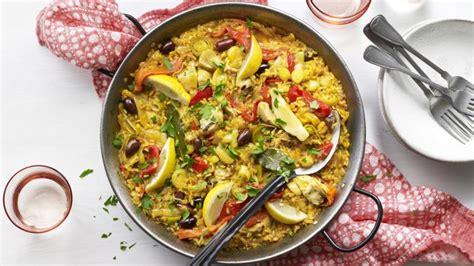 vegetable paella recipe bbc food