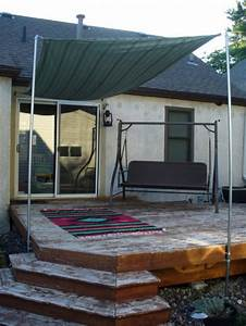 DIY Sun Shade For Your Patio Or Terrace - Shelterness