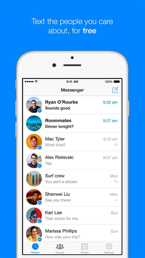 messenger for iphone messenger app gets updated for the iphone 6