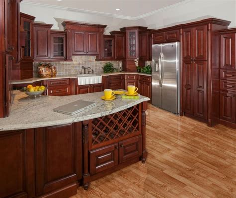 All Wood Cabinets by All Wood 10x10 Kitchen Cabinets Sonoma Merlot Rta Free