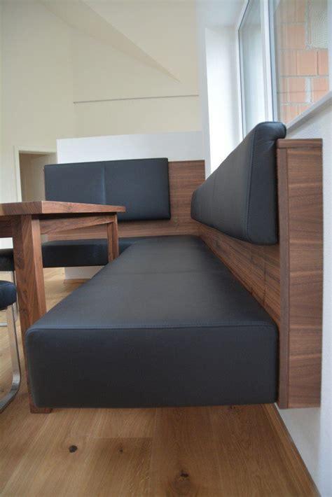 Sitzecke Esszimmer Modern by Schwebende Eckbank Nussbaum Echtleder Eckb 228 Nke