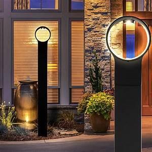 Led Lampen Außenbereich : led stehleuchte f r den au enbereich lampen m bel au enleuchten stehleuchten s ulenleuchten ~ Buech-reservation.com Haus und Dekorationen