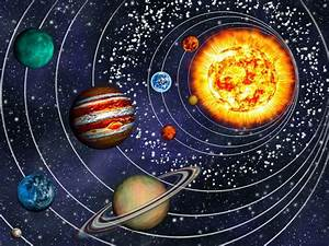 3d solar system 9 planets in their orbits wall decal With nice wall decals solar system