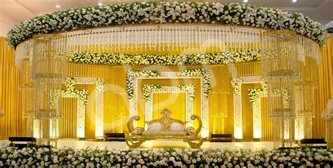 modern indian decor wedding ideas wedding stage decoration with flowers