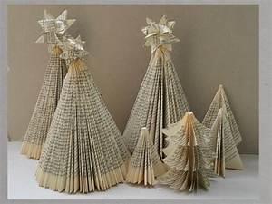 Alte Notenblätter Zum Basteln : diy weihnachtsbaum aus buch falten handmade kultur ~ Markanthonyermac.com Haus und Dekorationen