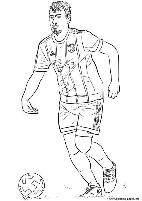 mats hummels fifa world cup football coloring pages printable