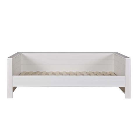 lit 1 place banquette en bois fsc denis par drawer fer