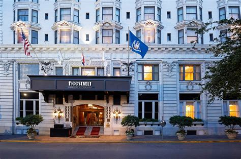 new orleans luxury at the roosevelt hotel in new orleans