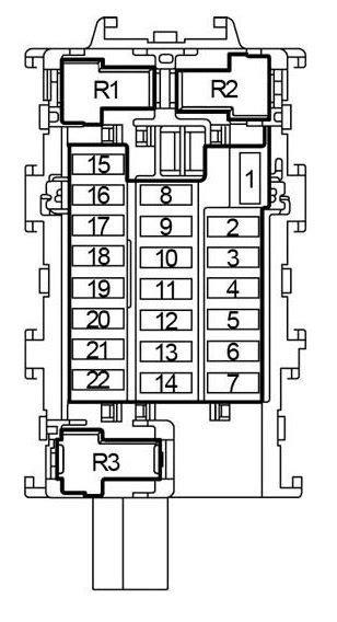 2013 Nissan Frontier Fuse Box Diagram by Nissan Versa Note 2013 2018 Fuse Box Diagram Auto