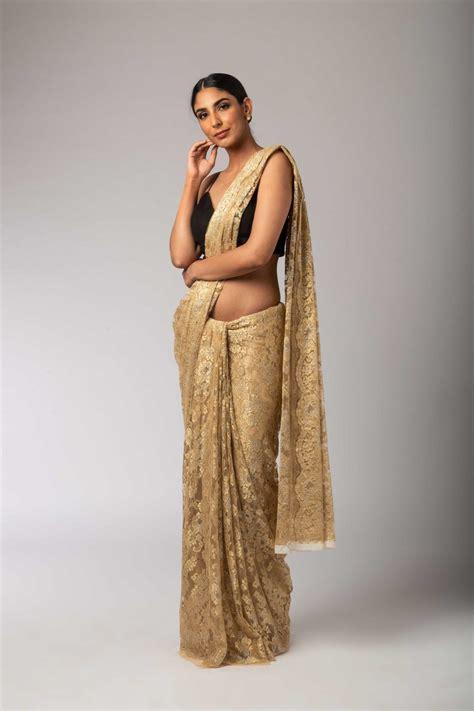 Harga Sari Gold gold silver lace sari sagar sarees