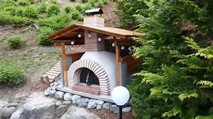 Grill überdachung Holz : garten pizzaofen bauen tipps und design ideen zum nachmachen ~ Buech-reservation.com Haus und Dekorationen