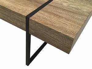 Table Basse Vintage Bois : table basse oslo bois vintage ~ Melissatoandfro.com Idées de Décoration