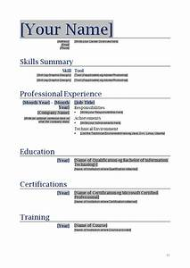 how to make a resume sample sample resumes With how to make a new resume free