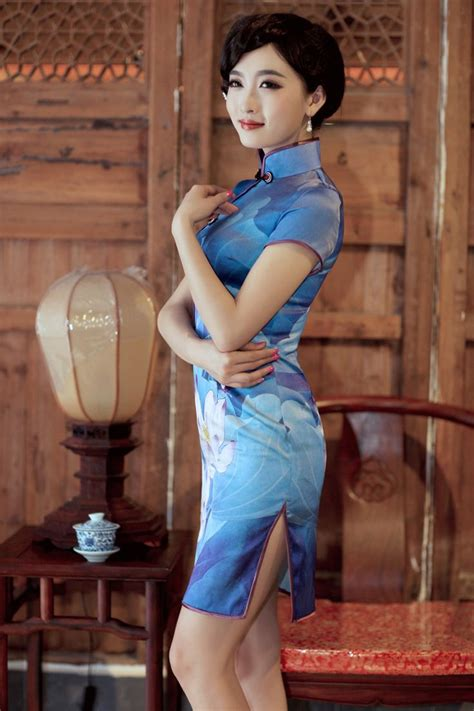 31 Best Cheongsam,super Sexy Images On Pinterest Chinese Dresses Asia And Asian Beauty