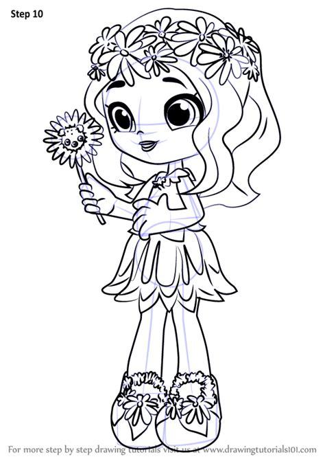 learn   draw daisy petals  shoppies shoppies